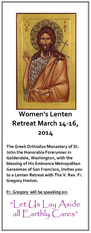 2014 Women Lenten Retreat