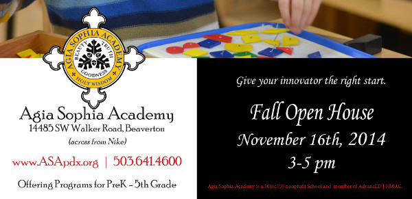 2014 ASA Fall Open House
