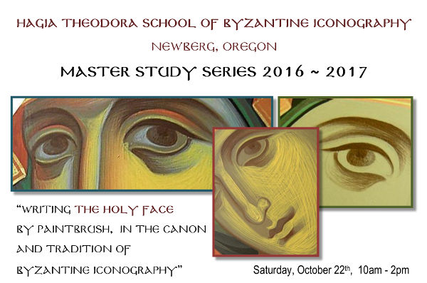 Iconography Workshop: Newberg, OR @ Hagia Sophia School of Byzantine Iconography | Newberg | Oregon | United States